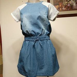 Vigoss Chambray Dress Size L(Girl 10/12)